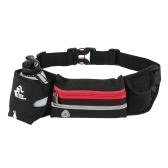 Livre Cavaleiro Leve Homens Mulheres cintura pack Outdoor Sports Ciclismo Fanny pacote de viagem Marathon Água corrente Belt Bottle Carrier Bag Pouch