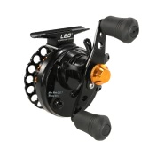 4+1 BB Ball Bearing 2.8:1 Gear Ratio Raft Fishing Reel Fly Reel Wheel Right/Left Hand Ice Fishing Reel Smooth Release Star Drag Fishing Tackles with Storage Pouch