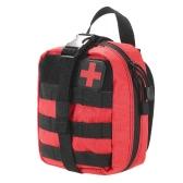 Bolsa de primeros auxilios médica al aire libre MOLLE sistema utilidad bolsa con parche de primeros auxilios