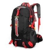 Zaino da viaggio resistente all'acqua da campeggio 40L Escursionismo portatile Daypack Trekking Climb Back Borse per uomo donna