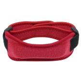 Rodillera ajustable elástica patela brazalete protector de la rodilla correa de sostén de la rodilla de apoyo para correr jogging senderismo