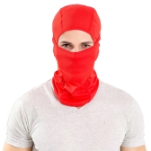 Motorcycle Outdoor Sports Hood Riding Running Full Face Mask for Thermal Protection Windproof Breathable Lightweight Comfortable Neck Warmer Hood
