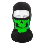 Maschera per bicicletta per ossa umane