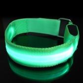 Correa reflectante LED que corre que va de excursión la correa de cintura que completa un ciclo