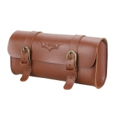 New YA237 Retro Leather 1.2L Bike Front Manubrio Bag