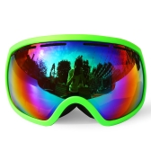 Winter Skiing Goggle UV400 Protection Dual Lens Snowboard Goggles OTG Spherical Anti-fog Snow Skating Skiing Sports Goggle Detachable Lens Goggle