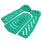 Satz von 3pcs Surfbrett Traktion Tail Pads Surfen Surf Deck Griffe Adhesive Stomp Pad zum Surfen Skimboarding Wassersport Zubehör
