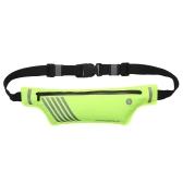 Ultralight Laufband Fitness Workout Reflektierende Taille Gürteltasche für Männer Frauen 55g