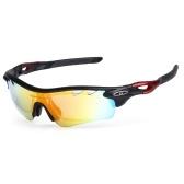 Occhiali da sole polarizzati da ciclismo Occhiali da ciclismo UV400 per biciclette Sport Driving Fishing Skating Travelling Eyewear Glasses