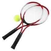 Racchette da tennis per racchette da tennis per bambini 2Pcs con 1 sfera da tennis e sacchetto di copertura
