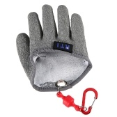 1pc Guanti da pesca con magnete Release Fisherman Professional Catch Fish Gloves con ganci magnetici Hunting Glove
