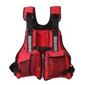 Lixada multi tasche pesca giubbotto salvagente vela kayak canottaggio giacca panciotto lbs
