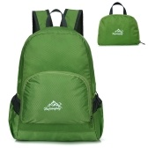 20L Packable Backpack Сверхлегкий складной рюкзак Складной сумка Сверхлегкий наружный комплект для женщин Мужчины Путешествие походы
