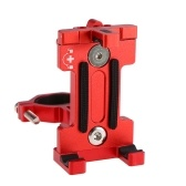 Soporte para teléfono de bicicleta Soporte para teléfono MTB Soporte de teléfono ajustable para bicicletas Soporte para teléfono de 3,5 a 7 pulgadas Abrazadera para teléfono giratoria de 360 °