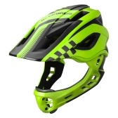Kid Bike Full Face Helmet Дети Езда Скейтборд Защитный шлем Катание на роликах Роликовые дощечки Спортивное защитное снаряжение со съемной челюстью