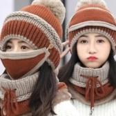 Gorros de invierno de las mujeres de la moda Sombrero hecho punto gorra de lana engrosada
