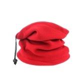 Осенний зимний унисекс Полярный флис Обогреватель шеи 3 в 1 Многофункциональный шарф