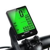 INBIKE 2,8-Zoll-Fahrrad-Funkcomputer Multifunktions-Regenschutz-Fahrradkilometer Kilometerzähler Stoppuhr Hintergrundbeleuchtung