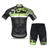 Lixada Men Cycling Jersey Set