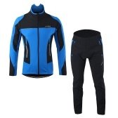 Lixada Men Winter Cycling Clothing Set