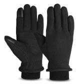 Тепловые флисовые зимние перчатки с сенсорным экраном