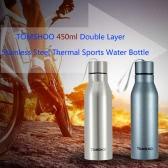 TOMSHOO 450ml botella de deportes al aire libre