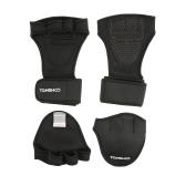 TOMSHOO мужской тяжелой атлетике перчатки с запястья Wrap захват руки колодки Bundle Набор для мужчин и женщин 2-в-1 Фитнес Bundle для перекрестное обучение