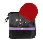 Manico corto del racchetta a ping-pong professionale in carbonio