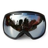 Occhiali da sci invernali Occhiali protettivi UV400 Occhiali da snowboard con lenti doppie OTG Occhiali da sole antinebbia sferici Sci Occhiali da sport Occhiali rimovibili Occhiali protettivi