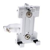 Fahrrad-Telefon-Halter MTB-Telefon-Einfassung Einstellbar Cycling Phone Cradle 3,5 bis 7IN-Telefon-Klemme 360 ° drehbarer Phone Rack