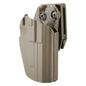 Right Hand Plastic Holster CS Equipment Holster Carry Holster Waistband Holster with Clip