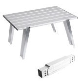 Tavolo da campeggio da campeggio pieghevole in alluminio mini