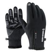 Thermische Winterhandschuhe Touchscreen-Radhandschuhe