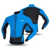 Giacca da ciclismo antivento da uomo Lixada Winter Thermal Polar