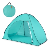Lixada automatico pop up Beach Tent Sun Shelter Cabana per 2-3 persone UPF50 + UV Protection Beach Shade