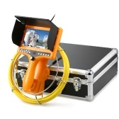 Drain Pipe Sewer Inspection Camera with DVR Function Distance Counter