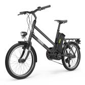 YADEA YT300 20-дюймовый электрический городской велосипед с литиевой батареей 7,8 Ач
