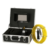 "Lixada 20M Abflussrohr Kanal Inspektion Kamera IP68 Wasserdicht Industrielle Endoskop Endoskop 6.5mm Super Slim Inspektionskamera 7 ""LCD-Monitor 6 LEDs Nachtsicht"