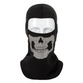 Menschlicher Knochen Fahrrad Gesichtsmaske