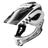 Kid Bike Full Face Helmet Children Riding Skateboard Safety Helmet Skating Rollerblading Longboard Sports Protective Equipment with   Detachable Jaw