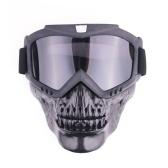Máscara fresca al aire libre de las gafas del cráneo