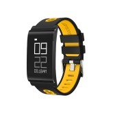 Ultra sottile inseguitore di idoneità di salute inseguitore di salute Sleeping Activity Watcher Sport Wristband con pressione sanguigna Monitor di frequenza cardiaca braccialetto Smart Wireless Outdoor Walking per iPhone / Android IP67 impermeabile