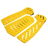 Set of 3pcs Surfboard Traction Tail Pads Surfing Surf Deck Grips Adhesive Stomp Pad for Surfing Skimboarding Water Sports Accessories