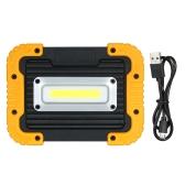 Lampada da campeggio ricaricabile portatile da trekking Lanterna LED da lavoro torcia elettrica da campeggio all'aperto escursionismo lettura pesca riparazioni banca di potere leggero