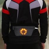 Lixada Ligero USB recargable cinturón de cintura reflexivo