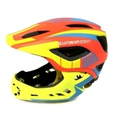 Kid Bike Full Face Helm Kinder Sicherheit Reiten Skateboard Helm Inline Skating Sport Schutzausrüstung mit abnehmbaren Chin