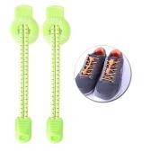 1 par de 120 cm deportes al aire libre cordones de encaje reflectante de escalada elástica correr montando senderismo sin cordón de zapatos de encaje