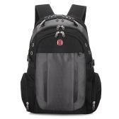 Neue Schweizer Military Army Multifunktions 15-Zoll-Laptop-Tasche Rucksack externe USB-Gebühr Schultasche Schwarz