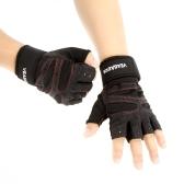Silicone e palestra guanti senza dita, per fisico allenamento fitness in palestra e per uomini e donne assorbimento del sudore di attrito Resistenza