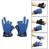 Outdoor-Sport einstellbare atmungsaktiv rutschfest 3 Low-Cut Finger Angeln Handschuhe
